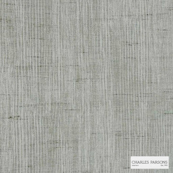 Charles Parsons Interiors - Hinterland Flint | Curtain Fabric - Grey, Jacquards, Stripe, Uncoated, Strie