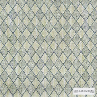 Charles Parsons Interiors - Federation Cameo | Curtain Fabric - Beige, Diamond, Harlequin, Traditional, Uncoated, Geometric