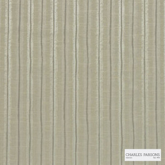 Charles Parsons Interiors - Regents Park Safari  | Curtain Fabric - Beige, Stripe, Uncoated