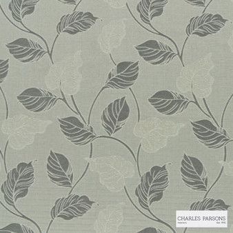 Charles Parsons Interiors - Marseille Silver | Curtain Fabric - Grey, Floral, Garden, Botantical, Jacquards, Uncoated