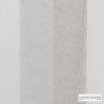 Charles Parsons Interiors - Flaxton Greythorn | Curtain Sheer Fabric - Fire Retardant, Grey, Stripe, Uncoated