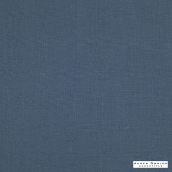 James Dunlop Essentials Matheson - Denim  | Curtain & Upholstery fabric - Fire Retardant, Washable, Blue, Envirofriendly, Oeko-Tex, Plain