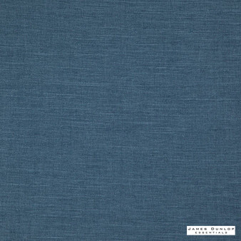 James Dunlop Essentials Provence - Denim  | Curtain & Upholstery fabric - Fire Retardant, Blue, Envirofriendly, Oeko-Tex, Plain, Standard Width