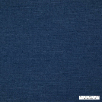 James Dunlop Essentials Provence - Indigo  | Curtain & Upholstery fabric - Fire Retardant, Blue, Envirofriendly, Oeko-Tex, Plain, Standard Width