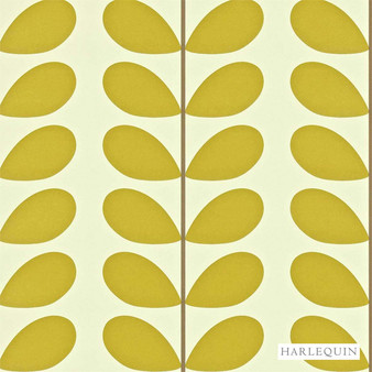 Harlequin Classic Stem 110388  | Wallpaper, Wallcovering - Fire Retardant, Gold, Yellow, Floral, Garden, Botantical