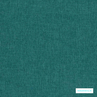 Warwick Beachcomber - Teal  | Upholstery Fabric - Green, Bacteria Resistant, Insect Resistant, Stain Repellent, Water Repellent, Plain, Standard Width
