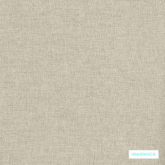 Warwick Meridian - Nougat  | Curtain Fabric - Beige, Stripe, Wide-Width, Plain