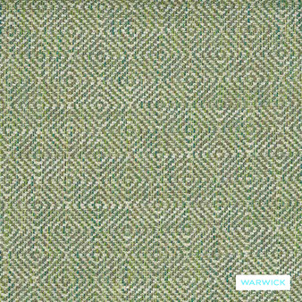 Warwick Abbas - Amazon  | Upholstery Fabric - Blue, Diamond, Harlequin, Ikat, Geometric, Bacteria Resistant, Insect Resistant, Stain Repellent