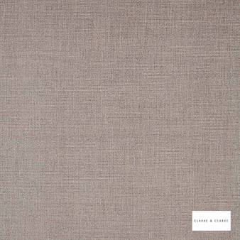 Clarke & Clarke - Albany Mink  | Curtain & Upholstery fabric - Brown, Plain, Strie, Fibre Blend, Strie