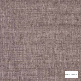 Clarke & Clarke - Albany Mocha  | Curtain & Upholstery fabric - Brown, Plain, Strie, Fibre Blend, Strie