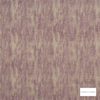 Clarke & Clarke - Baker Heather  | Curtain & Upholstery fabric - Pink, Purple, Plain, Fibre Blend