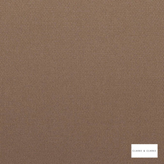 Clarke & Clarke - Bark Bamboo  | Upholstery Fabric - Brown, Plain