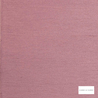 Clarke & Clarke - Brina Heather  | Curtain & Upholstery fabric - Pink, Purple, Plain