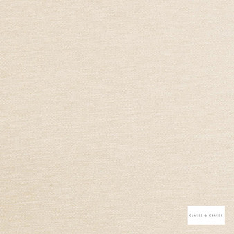 Clarke & Clarke - Brina Natural  | Curtain & Upholstery fabric - Beige, Plain