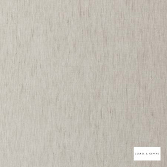 Clarke & Clarke - Gino Pebble  | Curtain & Curtain lining fabric - Beige, Plain, Fibre Blend