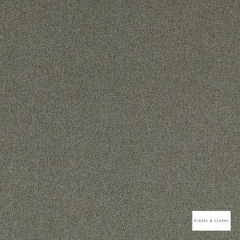 Clarke & Clarke - Highlander Mist  | Curtain & Upholstery fabric - Green, Plain