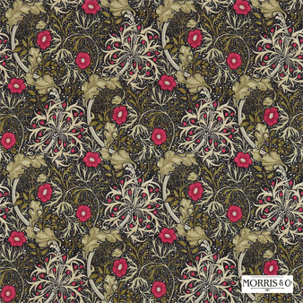 Morris and Co - Morris and Co - Seaweed 224471  | Curtain & Upholstery fabric - Green, Floral, Garden, Botantical, Art Nouveau, Craftsman, Natural