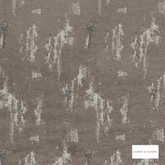 Clarke & Clarke - Monterrey Mocha  | Curtain & Upholstery fabric - Brown, Plain, Camouflage, Fibre Blend