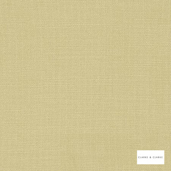 Clarke & Clarke - Nantucket Hemp  | Curtain & Upholstery fabric - Gold, Yellow, Natural, Plain, Natural Fibre