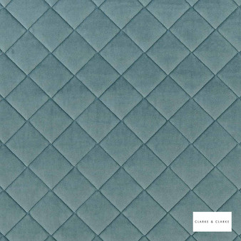 Clarke & Clarke - Odyssey Duckegg  | Upholstery Fabric - Green, Diamond, Harlequin, Traditional, Plain