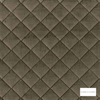 Clarke & Clarke - Odyssey Espresso  | Upholstery Fabric - Brown, Diamond, Harlequin, Traditional, Plain