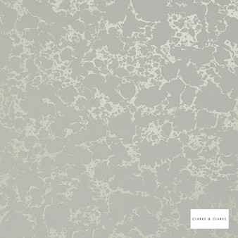 Clarke & Clarke - Pietra Ivorygold 2    Wallpaper, Wallcovering - Whites, Abstract, Splatter Paint, Organic, Print, Marble