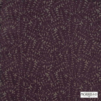 Morris and Co - Branch 230275  | Curtain & Upholstery fabric - Pink, Purple, Floral, Garden, Botantical, Traditional, Fibre Blend, Standard Width