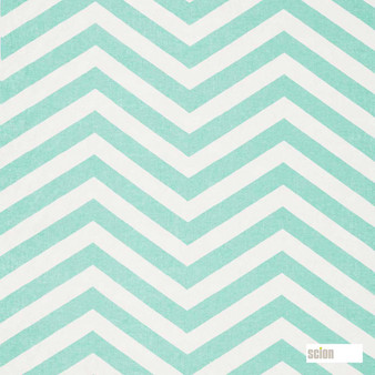 Scion Vector 120478  | Curtain Fabric - Fire Retardant, Green, Stripe, Chevron, Zig Zag, Natural, Natural Fibre, Standard Width