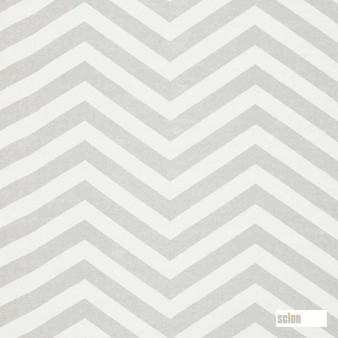 Scion Vector 120505  | Curtain Fabric - Fire Retardant, Grey, Stripe, Chevron, Zig Zag, Natural, Natural Fibre, Standard Width