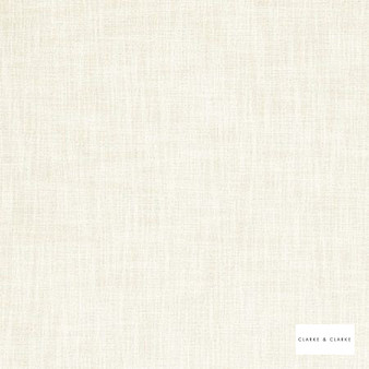 Clarke & Clarke - Vienna Cloud  | Curtain & Upholstery fabric - Whites, Plain, Strie, Strie