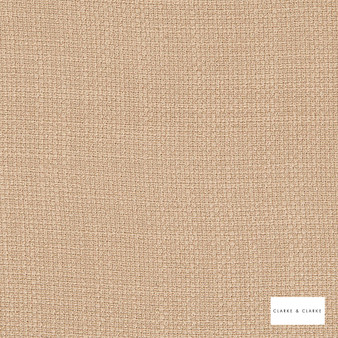 Clarke & Clarke - Willow Linen  | Curtain & Upholstery fabric - Beige, Plain, Texture