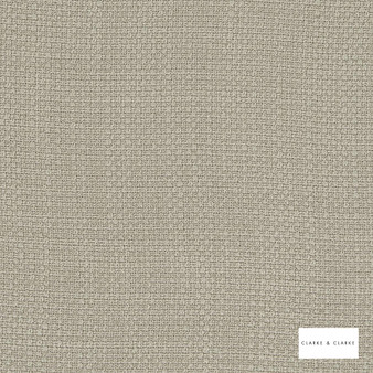 Clarke & Clarke - Willow Pebble  | Curtain & Upholstery fabric - Beige, Plain, Texture