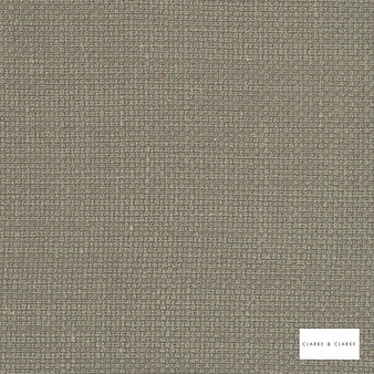 Clarke & Clarke - Willow String  | Curtain & Upholstery fabric - Beige, Plain, Texture
