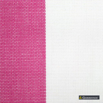 Gummerson - Avalon Stripe Pink Uncoated 140cm    Curtain Sheer Fabric - Fire Retardant, Brown, Red, Contemporary, Traditional, Uncoated, Natural