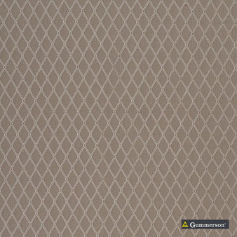 Gummerson - Hampstead Taupe Uncoated 280cm  | Curtain Sheer Fabric - Black, Charcoal, Contemporary, Diamond, Harlequin, Uncoated, Natural, Print