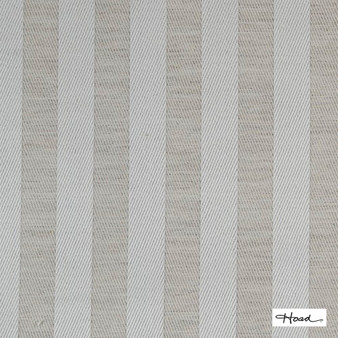 Hoad - St Clair Linen Uncoated 140cm  | Curtain & Upholstery fabric - Black, Charcoal, Stripe, Uncoated, Fibre Blend, Standard Width