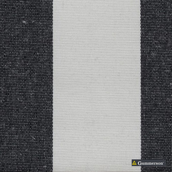 Gummerson - Avalon Stripe Black Uncoated 140cm  | Curtain & Curtain lining fabric - Beige, Traditional, Uncoated, Wide-Width, Plain, Fibre Blend