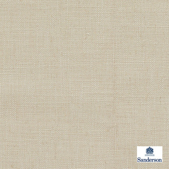 Sanderson Lowen - 236451  | Curtain & Upholstery fabric - Beige, Cushion, Slub, Fibre Blend, Standard Width