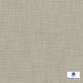 Sanderson Lowen - 236452  | Curtain & Upholstery fabric - Tan, Taupe, Cushion, Slub, Fibre Blend, Standard Width