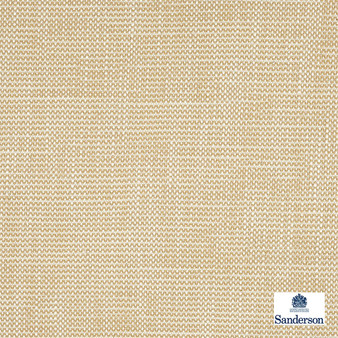 Sanderson Lowen - 236456  | Curtain & Upholstery fabric - Beige, Cushion, Slub, Fibre Blend, Standard Width