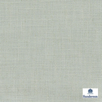 Sanderson Lowen - 236458  | Curtain & Upholstery fabric - Green, Cushion, Slub, Fibre Blend, Standard Width