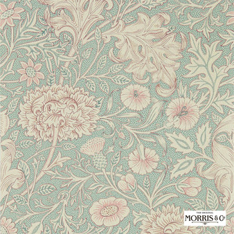 Morris & Co Double Bough - 216680  | Wallpaper, Wallcovering - Green, Floral, Garden, Botantical, Jacobean