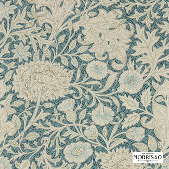 Morris & Co Double Bough - 216682  | Wallpaper, Wallcovering - Green, Floral, Garden, Botantical, Jacobean