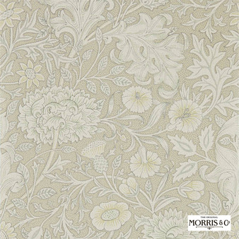 Morris & Co Double Bough - 216684  | Wallpaper, Wallcovering - Beige, Floral, Garden, Botantical, Jacobean