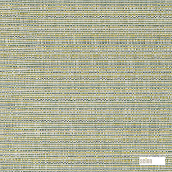 Scion Neo - 132173  | Curtain & Upholstery fabric - Green, Stripe, Cushion, Strie, Fibre Blend, Standard Width, Strie