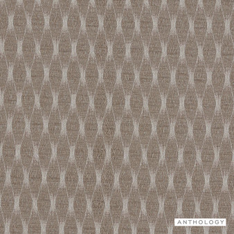 Anthology Cazimi - 131735  | Curtain Fabric - Brown, Contemporary, Diamond, Harlequin, Railroaded, Lattice, Trellis