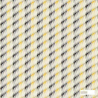 Scion Mistral 120097  | Curtain & Upholstery fabric - Gold, Yellow, Stripe, Eclectic, Natural, Natural Fibre, Standard Width