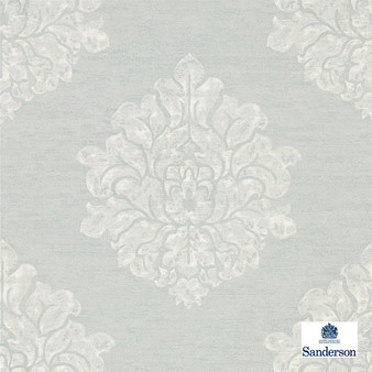 Sanderson Laurie - 216267    Wallpaper, Wallcovering - Grey, Traditional, Damask