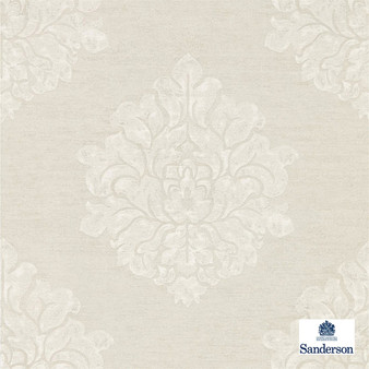 Sanderson Laurie - 216268    Wallpaper, Wallcovering - Beige, Traditional, Damask