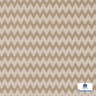 Sanderson Zagora - 215425  | Wallpaper, Wallcovering - Brown, Chevron, Zig Zag